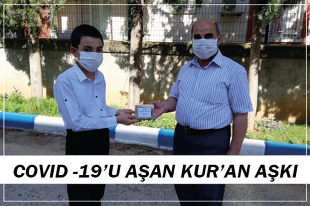 Adana'da Covıd -19'u Aşan Kur'an Aşkı