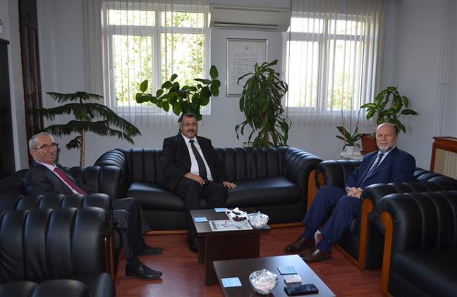 Denizli'de Cumhuriyet Başsavcısı Ile Adalet Komisyonu Başkan'ından Müftü Aşık'a Ziyaret