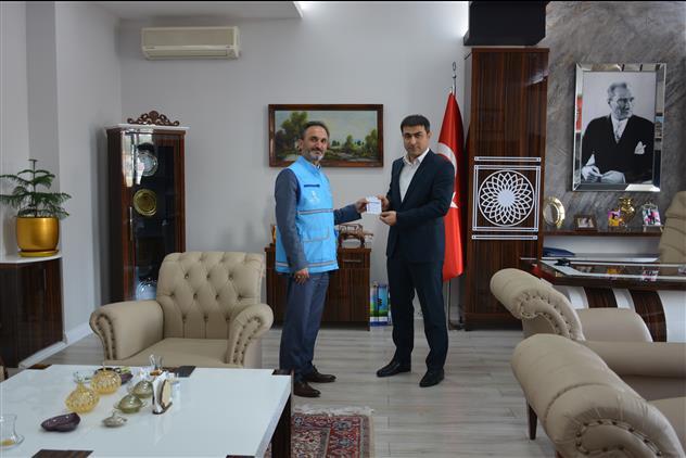 Yozgat'de Cumhuriyet Başsavcısı Uçak'tan Tdv'ye Kurban Bağışı
