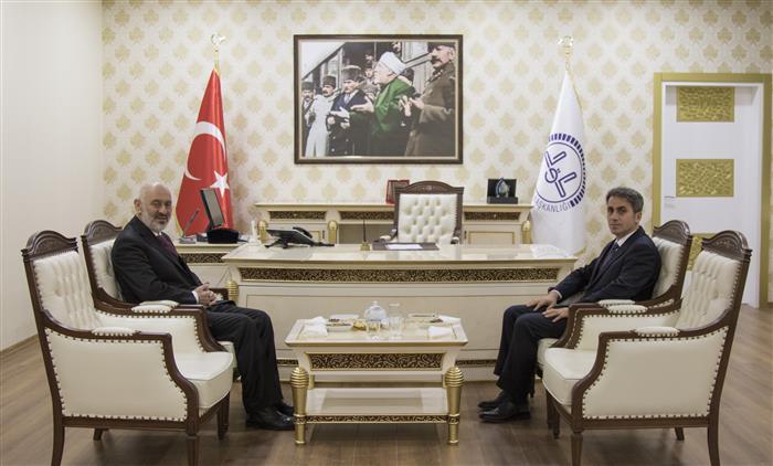 Cumhuriyet Başsavcısı Keskin'den Van Müftüsü Arvas'a Ziyaret