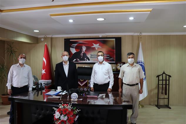 Cankiri'da Din Görevlileri Derneği Başkanı Ve Heyeti Il Müftümüzü Ziyaret Etti.