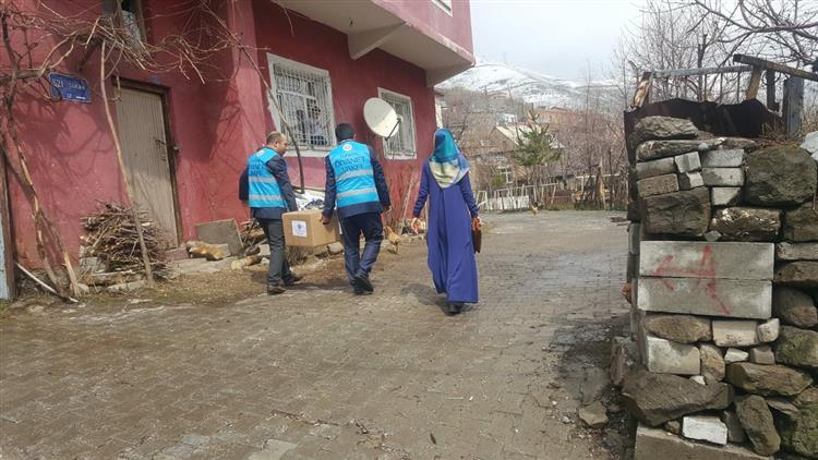 Antalya'da Din Görevlilerinin Vefa Hizmetleri Devam Ediyor
