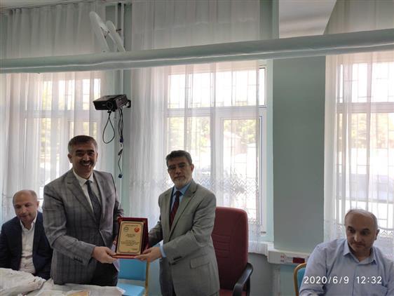 Bitlis'de Din Hizmetleri Ve Eğitimi şube Müdürü Elmas Için Veda Yemeği Düzenlendi.