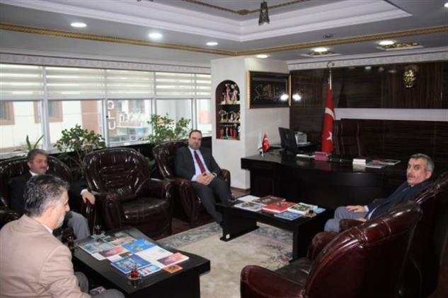 Duzce'de Dini Yayınlar Genel Müdürü Dr. Fatih Kurt Müftülüğümüzü Ziyaret Etti.