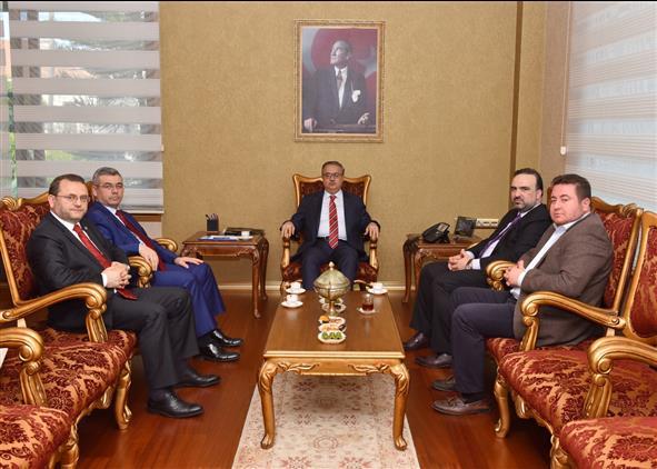 Dini Yayınlar Genel Müdürü Dr. Fatih Kurt'tan Mersin Valiliğine Ziyaret
