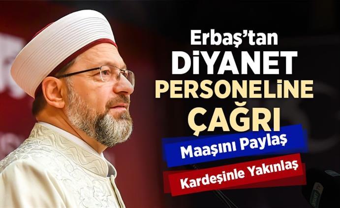 Çanakkale'de Diyanet Işleri Başkanı Erbaş'tan Diyanet Personeline çağrı