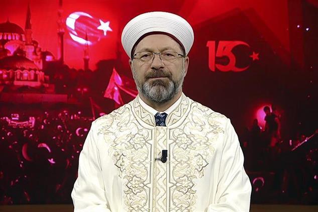 Eskisehir'de Diyanet Işleri Başkanı Erbaş'ın 15 Temmuz Demokrasi Ve Milli Birlik Günü Mesajı