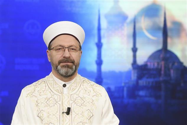 Rize'de Diyanet Işleri Başkanı Erbaş'tan Berat Gecesi Mesajı