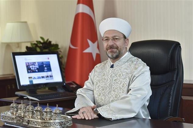 Rize'de Diyanet Işleri Başkanı Erbaş'tan Berat Kandili Mesajı