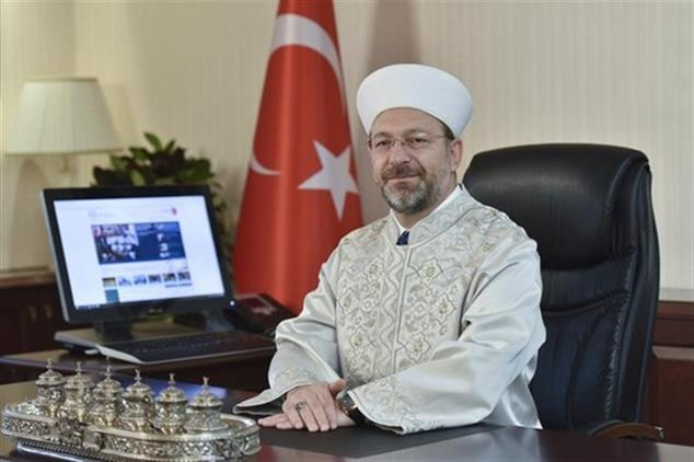Ordu'da Diyanet Işleri Başkanı Erbaş'tan Kurban Bayramı Mesajı