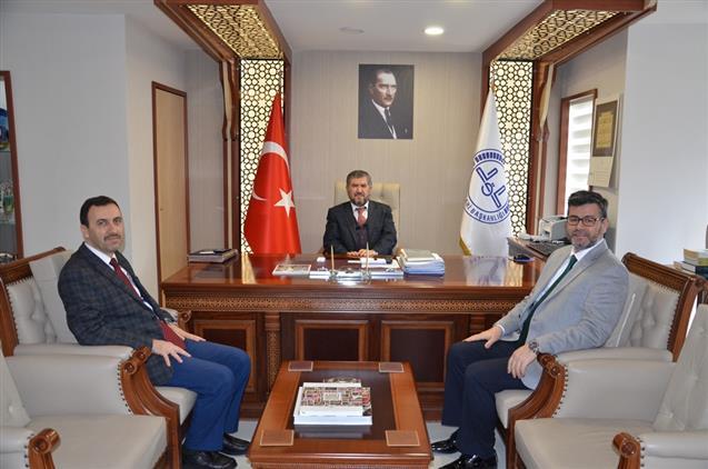 Antalya'da Diyanet Işleri Başkan Yardımcısı Il Müftülüğümüzü Ziyaret Etti