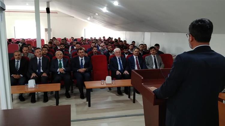Elazığ Eğitim Merkezi Diyanet Işleri Başkanlığı Başkan Yardımcımız Sayın Prof Dr. Ramazan Muslu Harput Diyanet Eğitim Merkezi Müdürlüğümüzü Ziyaret Ettiler.