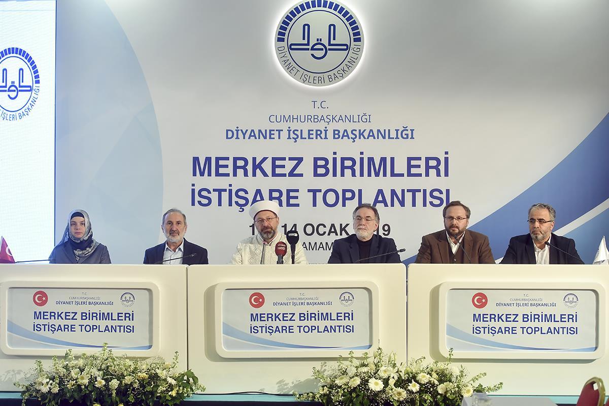 Diyanet Işleri Başkanlığı Merkez Birimleri Istişare Toplantısı Sona Erdi