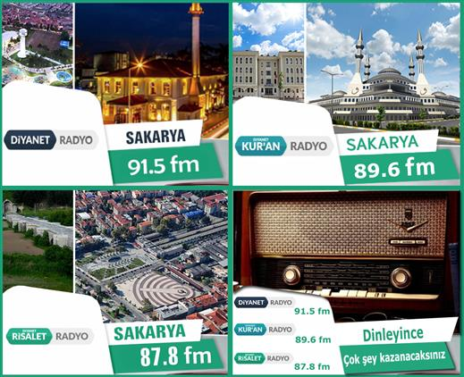 Sakarya'de Diyanet Tv Ve Diyanet Radyoları