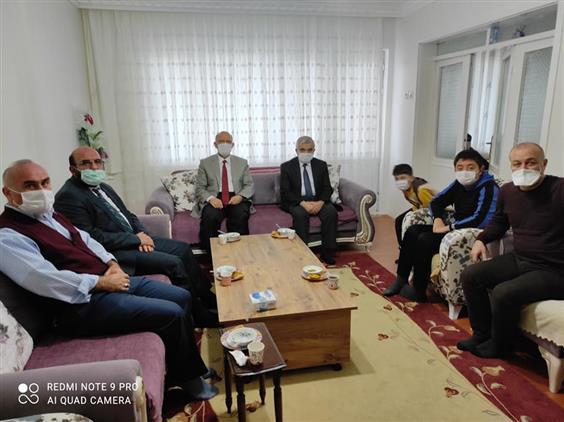 Cankiri'da Din Görevlilerimize Taziye Ziyaretleri
