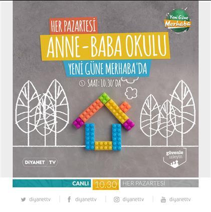 Afyonkarahisar'da Diyanet Tv'de Ana-baba Okulu Programları Başlıyor