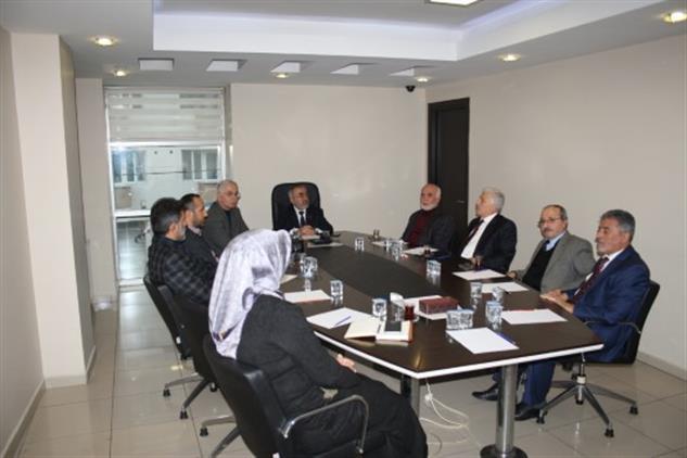 Düzce Müftülüğü Dini Istişare Kurulu Yeni Yılın Ilk Toplantısını Yaptı.