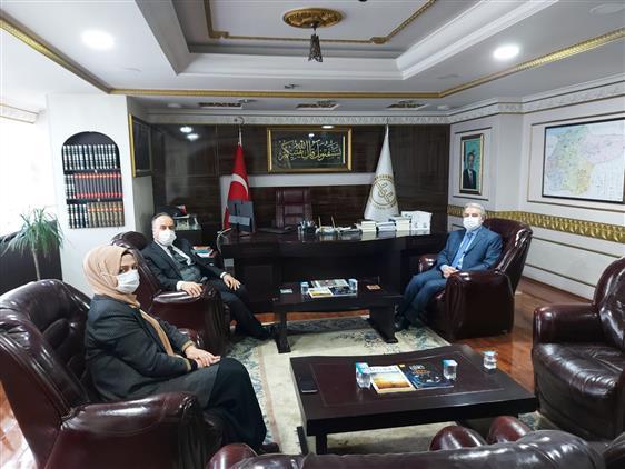 Düzce Vali Yardımcısı Süleyman Hurrem Aksoy' Dan Ziyaret