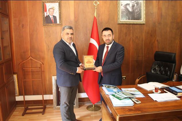 Ehad Amasya şubesinden Il Müftümüze Ziyaret