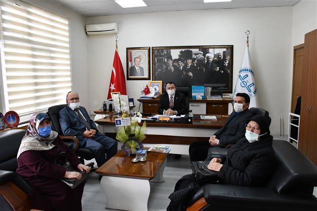 Ehad Kütahya Heyetinden Ziyaret