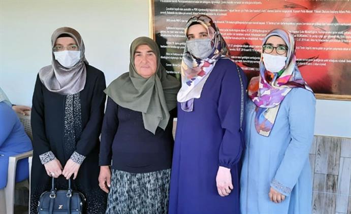 Kahramanmaras'da şehadetinin üçüncü Yılında şehit Ailesi Ziyaret Edildi