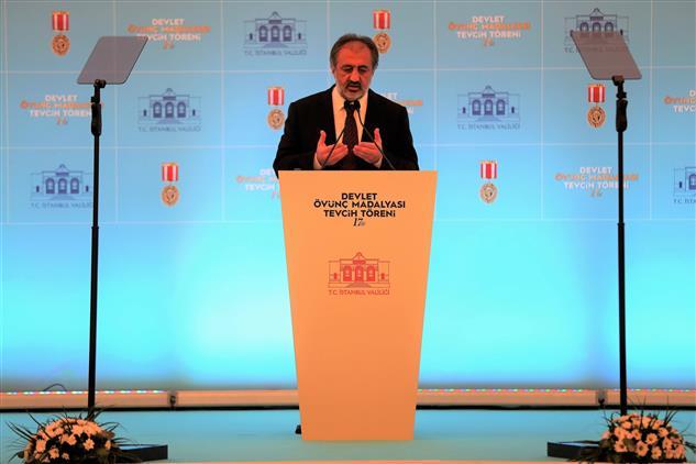 İstanbul'da şehit Aileleri Ve Gazilere Devlet övünç Madalyası Ve Beratı Takdim Edildi