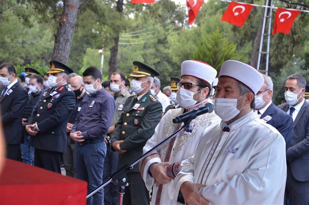 Antalya'da şehit Jandarma Astsubay çavuş Celal özcan Dualarla Son Yolculuğuna Uğurlandı