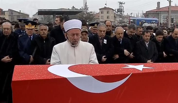 Konya'da şehit Piyade Teğmen Bayram Olgun, Dualarla Defnedildi