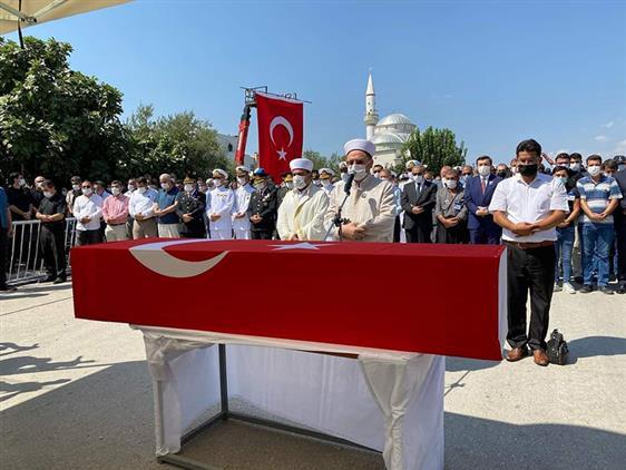 Mersin'de şehit Piyade Uzman çavuş Gökhan Kılınç Mut'ta Son Yolculuğuna Uğurlandı