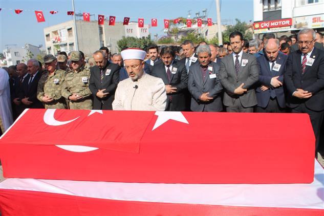 Osmaniye'de şehit Istihkam Uzman çavuş Suat Topçu Dualarla Toprağa Verildi