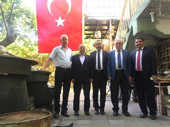 Malatya'da Ekim Ayı Ilçe Müftüleri Toplantısı Arapgir'de Yapıldı