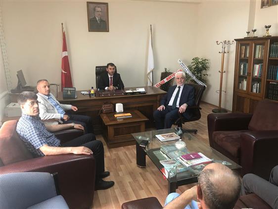 Elazığ Il Milli Eğitim Müdürü Sayın Feyzi Gürtürk'ün Ziyareti.