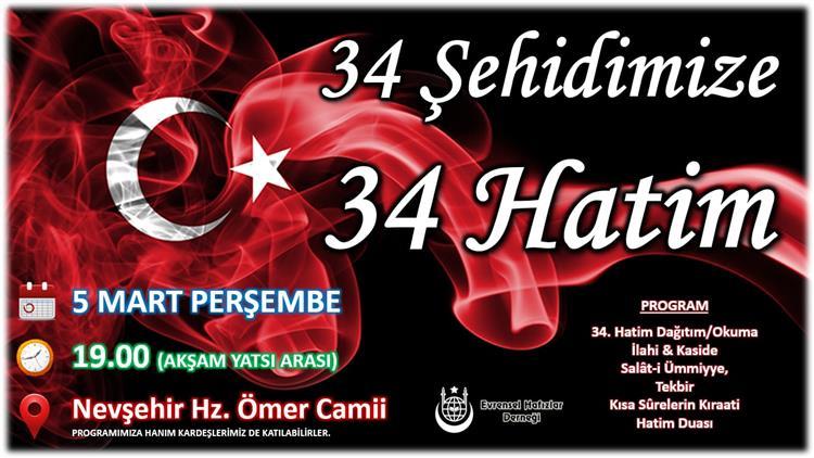 Nevşehir'de Eller Mehmetçik Için Semaya Kalkacak