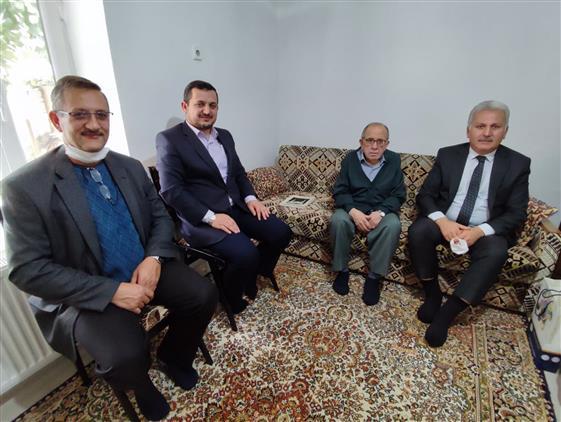 Kirklareli'de Emekli Din Görevlilerimiz Ve Cami Cemaatinden Hasta Olanlara Ziyaret