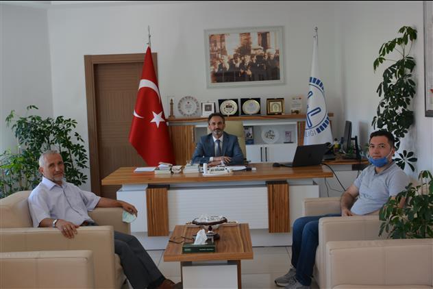 Yozgat'de Emekli Müftü Sezai Erdal'dan Il Müftüsü Ali Gülden'e Hayırlı Olsun Ziyareti