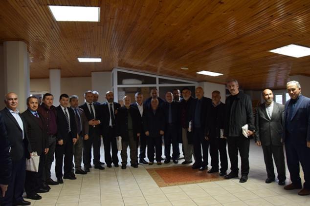 Giresun'da Emekli Personellere Veda Programı