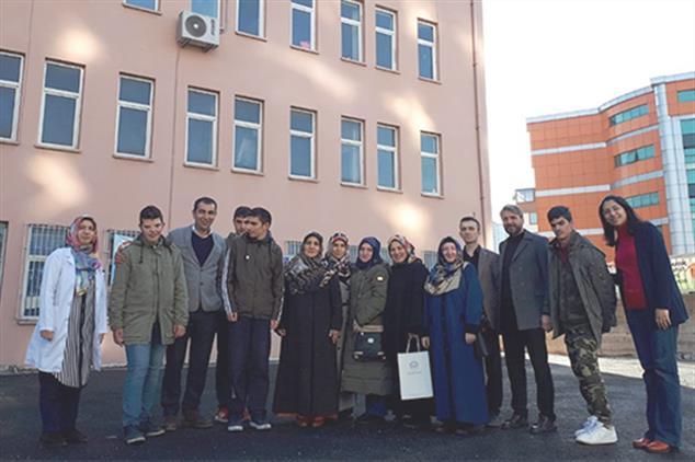 Rize'de Engelli Koordinatörlüğümüzden Okul Ziyareti