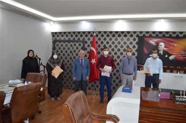 Malatya'da Engelli Personellerimize Hediye Takdimi