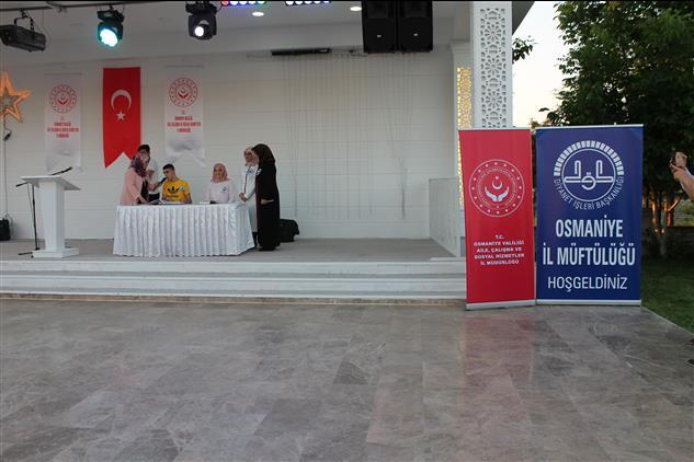 """Osmaniye'de """"engelliler Haftası"""" Iftar Programı"""