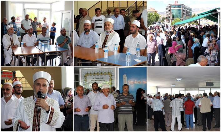 Erzincan 1. Kafile Hacı Adayları Duâlarla Kutsal Topraklara Uğurlandı