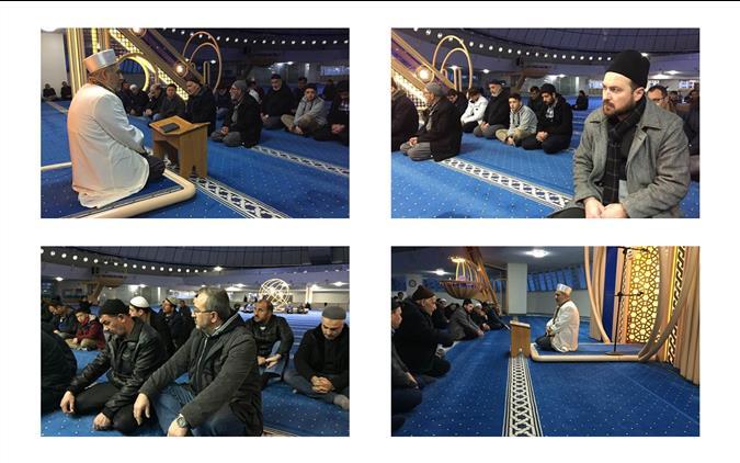 Erzincan Imam Hatip Lisesi Proje Okulu öğrencileriyle Terzibaba Camiinde Sabah Programı