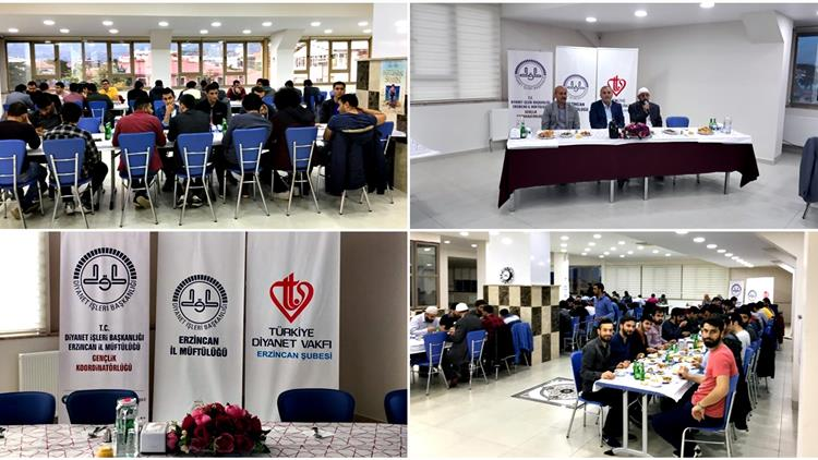 Erzincan Müftülüğü Gençlik Hizmetleri Koordinatörlüğünün Ramazan Etkinlikleri Devam Ediyor