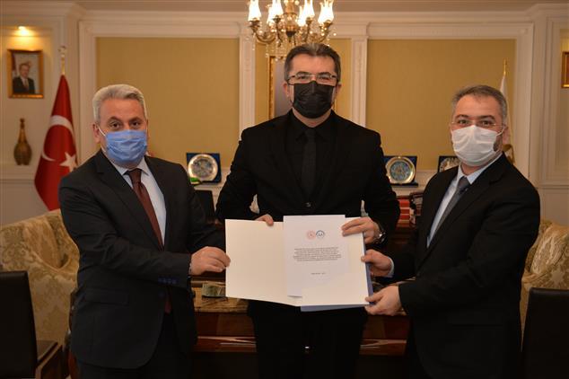 Erzurum Il Müftülüğü Ile Gençlik Ve Spor Il Müdürlüğü Arasında Iş Birliği Protokolü Imzalandı.
