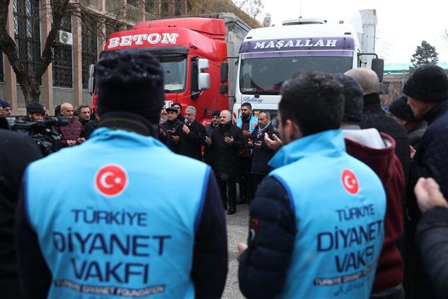 Eskişehir'den Elazığ Ve Malatya'daki Depremzedelere Destek