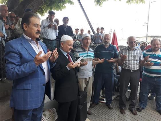 Malatya'da Esnaf Duası Yapıldı