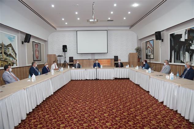 Cankiri'da Eylül Ayı Ilçe Müftüleri Toplantısı Yapıldı