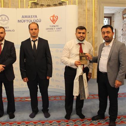 Amasya'da Ezanı Güzel Okuma Bölge Yarışması Ilimizde Düzenlendi