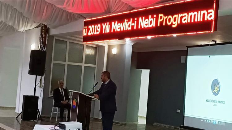 """Antalya'da Finike'de """"mevlid-i Nebi Haftası"""" Kapsamında Konferans Düzenlendi"""