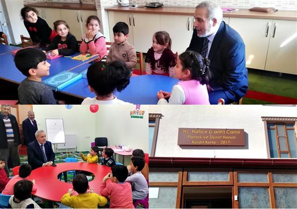 Erzincan'da Geçit Toki Ve Aydınlıkevler 4-6 Yaş Grubu öğrencilerine Ziyaretler
