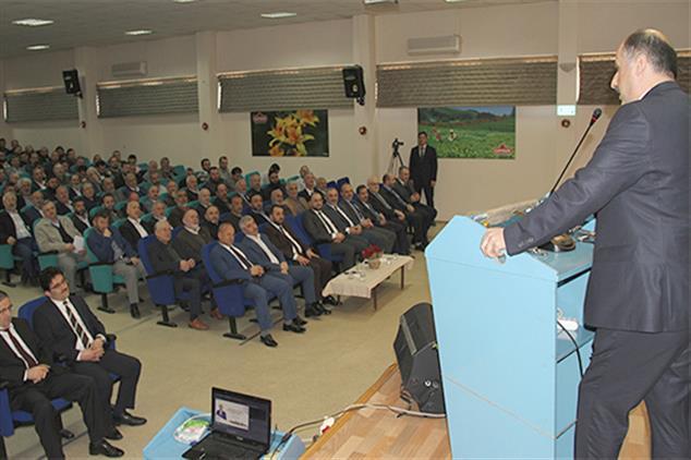 Rize'de Genel Müdür Mehmet Bilgin Din Görevlilerine Seslendi: Heyecanınızı Daima Canlı Tutun